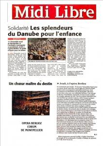 Les Splendeurs du Danube au Corum de Montpellier